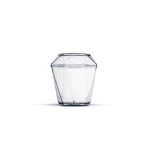 Mini Copo Diamantinho com Tampa - 10 unidades - Plastilânia - Rizzo