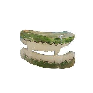 Dentadura Halloween Vampiro - Verde - 01 unidade - Rizzo