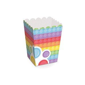 Caixa para Pipoca Festa Fidget Toys - 12 unidades - Cromus - Rizzo