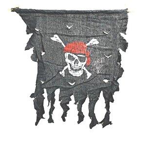 Enfeite Decorativo Flâmula Pirata - Preto - 01 unidade - Rizzo