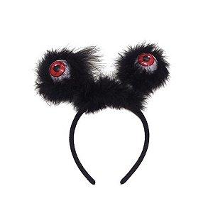 Tiara Halloween - Olhos Vermelhos com luz - 01 unidade - Rizzo