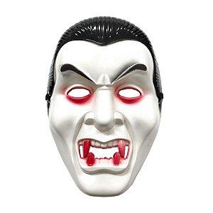 Máscara Halloween Vampiro com Capuz - 01 unidade - Rizzo