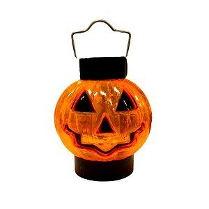 Mini Abóbora com led colorido - Halloween - 01 unidade - Rizzo