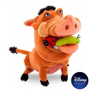 Pelúcia Pumba Rei Leão Disney - Disney Original - 1 Un - Rizzo