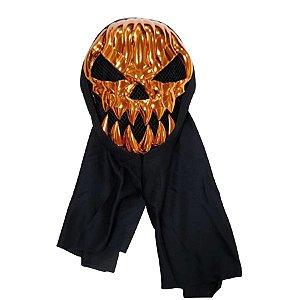 Máscara Luxo - Halloween - Caveira com Capuz mod.2 - Bronze - 01 unidade - Rizzo
