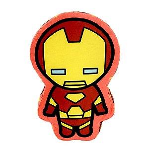 Almofada Homem de Ferro Vingadores 30cm - Marvel Oficial - Zona Criativa - 1 Un - Rizzo
