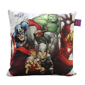 Almofada Vingadores Avengers 40cm - Marvel Oficial - Zona Criativa - 1 Un - Rizzo