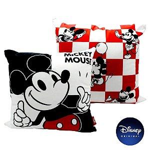 Almofada Mickey Mouse Disney 40cm - Disney Original - 1 Un - Rizzo