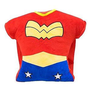 Almofada Peitoral Mulher Maravilha - DC Oficial - 1 Un - Rizzo