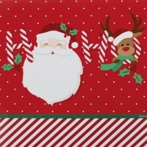 Guardanapo de Papel Papai Noel HoHoHo 32,5cm - 20 folhas - Cromus Natal - Rizzo
