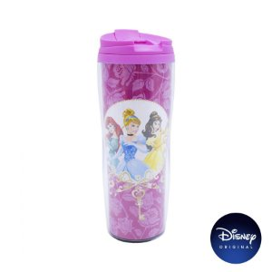 Copo Térmico Disney Princesa - 450ml - Disney Original - 01 Un - Rizzo