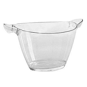 Balde de Gelo Transparente 7 Litros 791 - Agraplast - 1 Unidade - Rizzo Embalagens