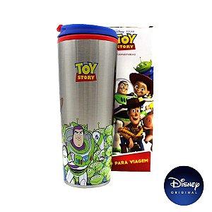 Copo P/ Viagem Toy Story Disney - 450ml - Disney Original - 01 Un - Rizzo