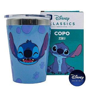 Copo c/ Tampa Lilo & Stitch Disney - 300ml - Disney Original - 01 Un - Rizzo