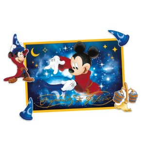 Kit Decorativo Festa Mickey Fantasia - 10pçs - 01 unidades - Regina - Rizzo Embalagens