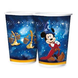 Copo de Papel Festa Festa Mickey Fantasia - 180ml -12 unidades - Regina - Rizzo Embalagens