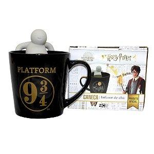 Caneca Infusor de Chá Harry Potter - 350ml - Zona Criativa - 01 Un - Rizzo