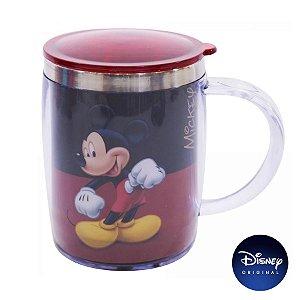 Caneca Térmica Mickey Mouse Disney Jr - 450ml - Disney Original - 01 Un - Rizzo