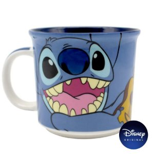 Caneca Lilo & Stitch - 350ml - Disney Original - 01 Un - Rizzo