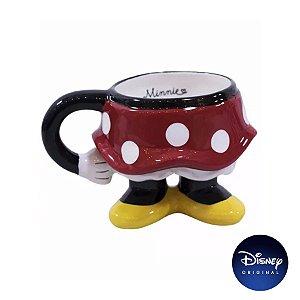 Caneca Enfeite Decorativo Minnie Mouse - 300ml - Disney Original - 1 Un - Rizzo