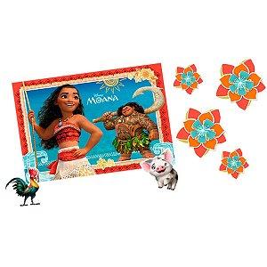 Kit Decorativo Festa Moana - 12pçs - 01 unidades - Regina - Rizzo Embalagens