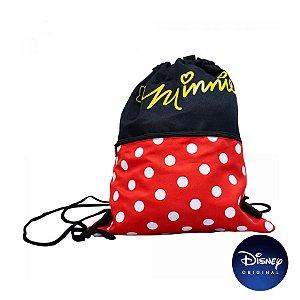 Mochila Saco Minnie Mouse - Disney Original - 01 Un - Rizzo