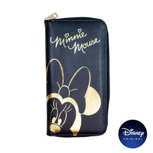 Carteira Preta de Mão Minnie Mouse G - Disney Original - 1 Un - Rizzo