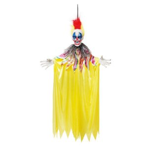 Palhaço Animado 50x11x100cm Halloween - 01 Unidade - Cromus - Rizzo Embalagens