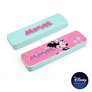 Estojo Metal Minnie Mouse Disney Jr - Disney Original - 1 Un - Rizzo