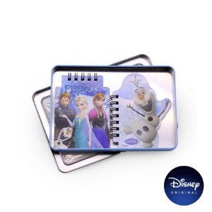 Kit Bloco de Notas Frozen - Disney Original - 1 Un - Rizzo