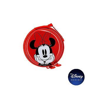 Porta Moedas Metal Minnie Mouse - Disney Original - 1 Un - Rizzo