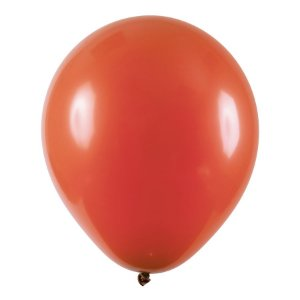Balão de Festa Redondo Profissional Látex Liso - Terracota - Art-Latex - Rizzo