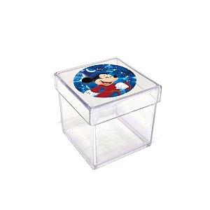 Caixinha Acrílica Lembrancinha Festa Mickey Fantasia - 5cm x 5cm 20 unidade - Rizzo Embalagens