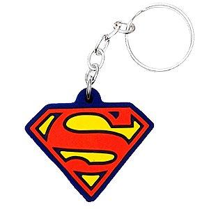 Chaveiro Super Homem Temático Emborrachado - 01 unidade - Rizzo