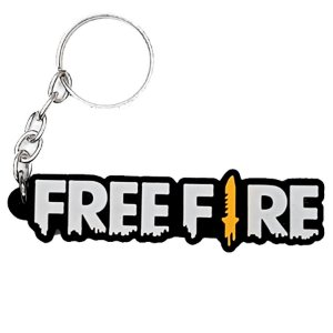 Chaveiro Free Fire Temático Emborrachado - 01 unidade - Rizzo Embalagens