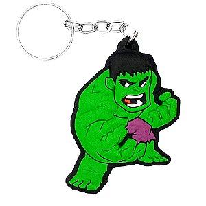 Chaveiro Hulk Temático Emborrachado - 01 unidade - Rizzo Embalagens
