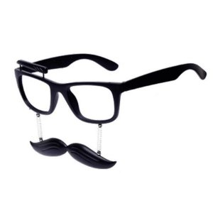 Óculos Festa Sobrancelha e Bigode - 1 Unidades- Rizzo Embalagens