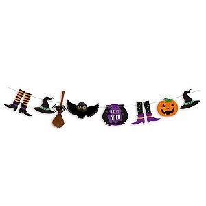 Faixa Decorativa Noite do Terror Halloween 1 Unidades - Cromus - Rizzo Embalagens