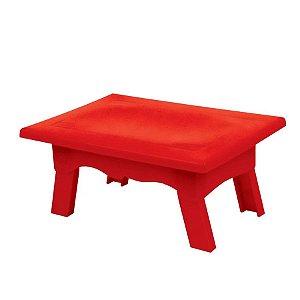 Mesinha Vermelha P/ Doces - 20x14cm - 1 Un - Rizzo