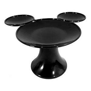 Mesa Preta P/ Doces Mickey Minnie Mouse - 20x14cm - 1 Un - Rizzo
