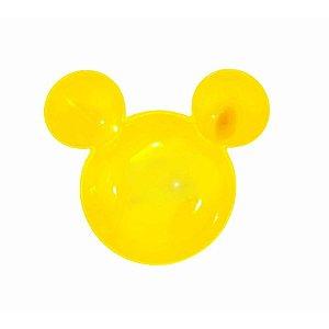 Petisqueira Amarela Mickey Minnie Mouse - 19cm - 1 Un - Rizzo