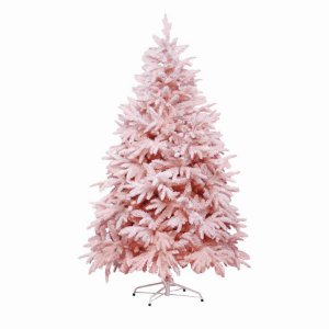 Árvore de Natal Andes Nevada Rosa 150cm - 1un - Cromus Natal - Rizzo