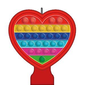 Vela Festa Pop It - 1 Unidade - Festcolor - Rizzo Embalagens