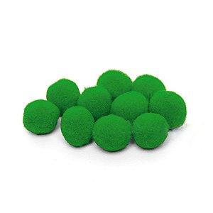 Pompom Decorativo Verde - 100 Un - Artegift - Rizzo