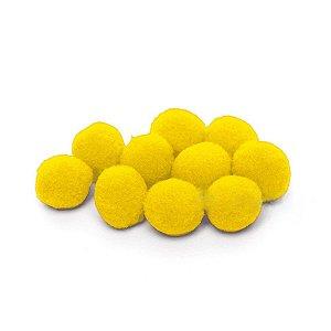 Pompom Decorativo Amarelo - 100 Un - Artegift - Rizzo