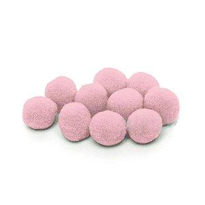 Pompom Decorativo Rosa - 100 Un - Artegift - Rizzo