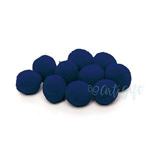 Pompom Decorativo Azul Marinho - 100 Un - Artegift - Rizzo