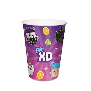 Copo Papel Festa PK XD Emoji 240ml - 8 Unidades - Cromus - Rizzo Embalagens
