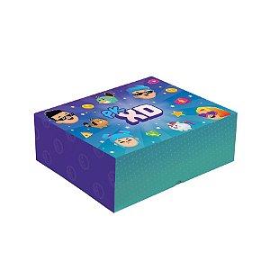 Cesta na Caixa Festa PK XD Party - 33x23x10cm - 01 Unidade - Cromus - Rizzo Embalagens