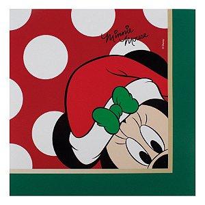 Guardanapo de Papel Minnie Mouse Poa - 20 folhas Natal Disney - Cromus - Rizzo